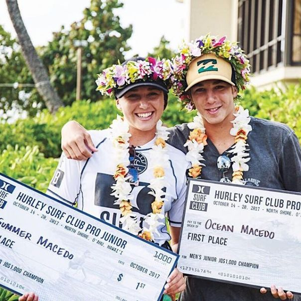 An important win at WSL Hurley Junior Pro, Turtle Bay